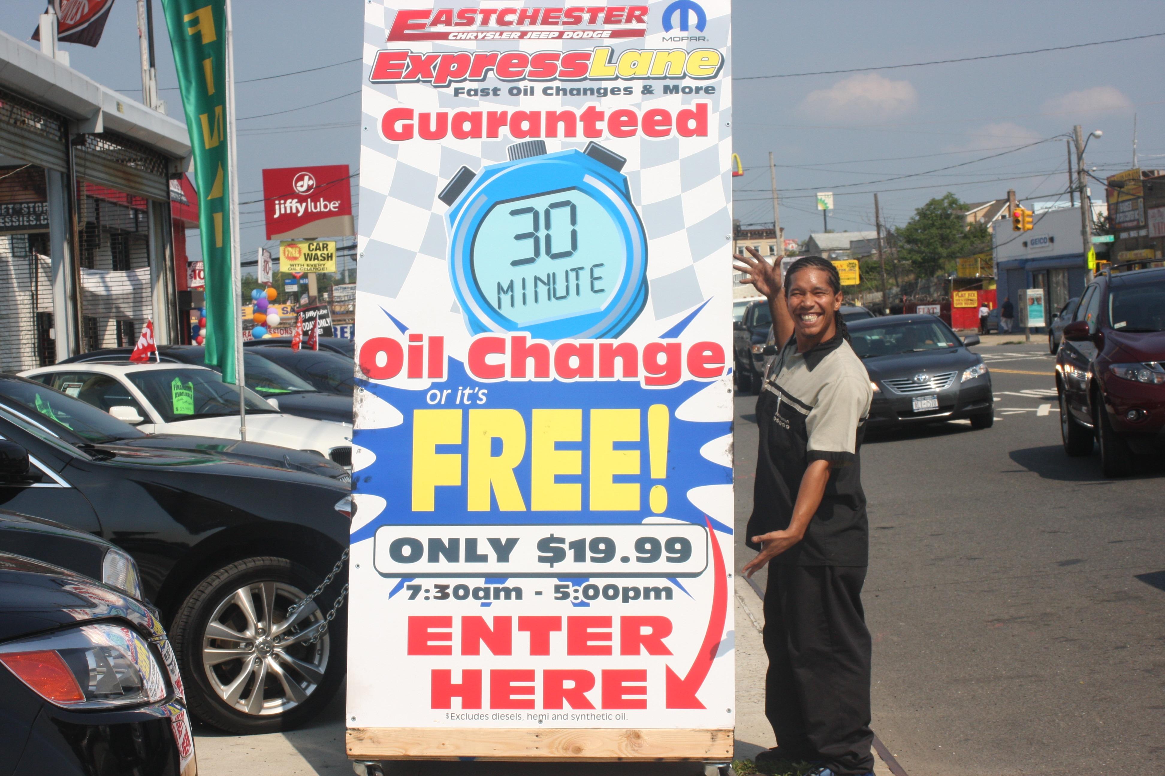 Bronx Oil Change