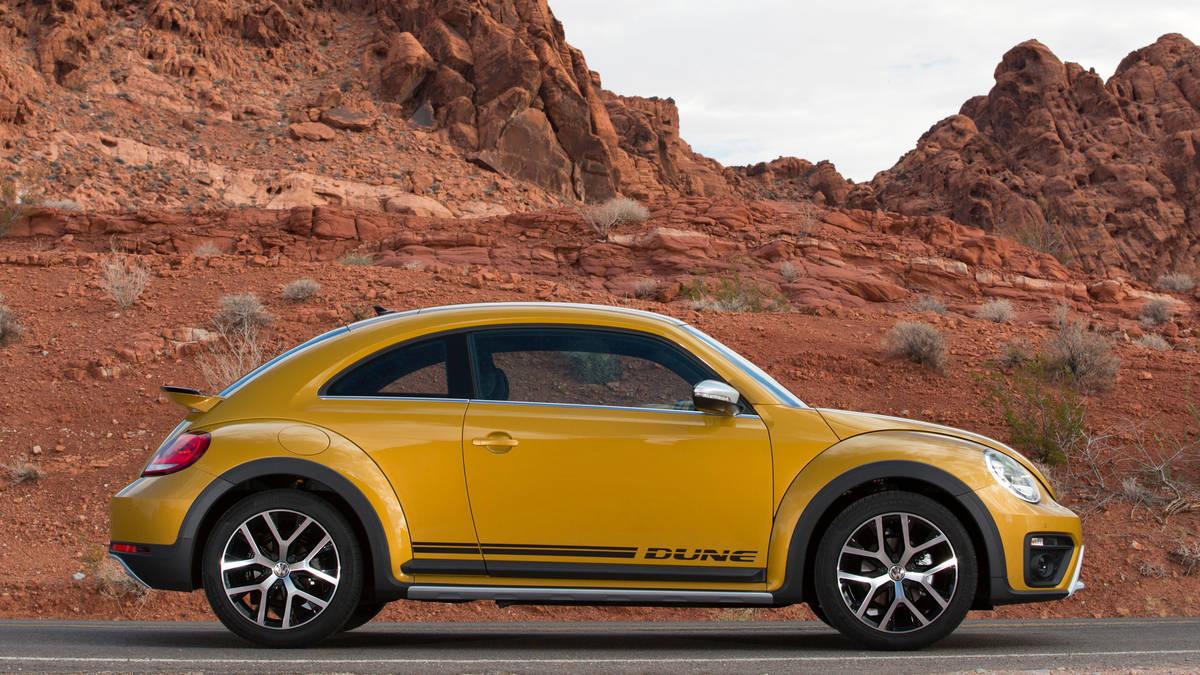The 2017 volkswagen beetle