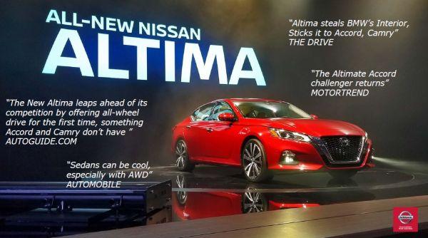 New Nissan Altima Morristown
