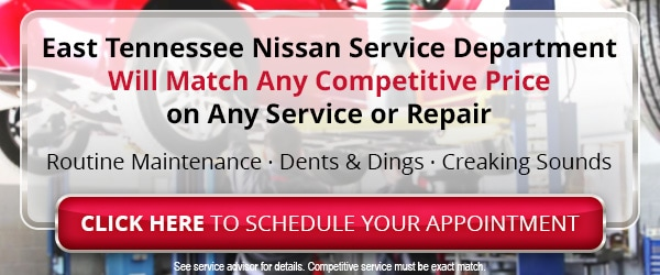 Nissan Service Center near Knoxville & Greeneville TN
