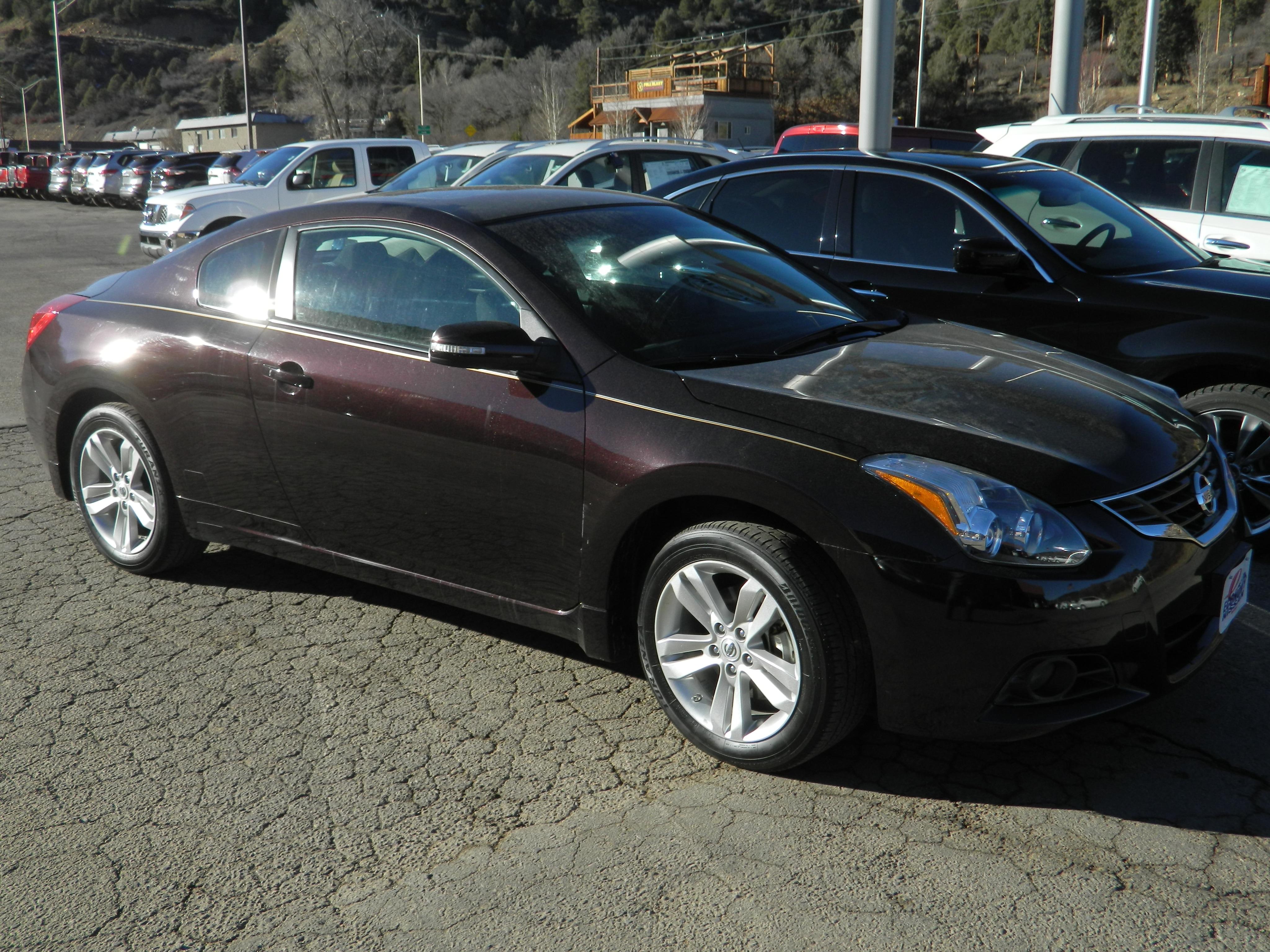 coupe side exterior s view image altima door nissan l
