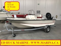 2017 BOSTON WHALER 150 Montauk 6 MONTHS NO PAYMENTS!