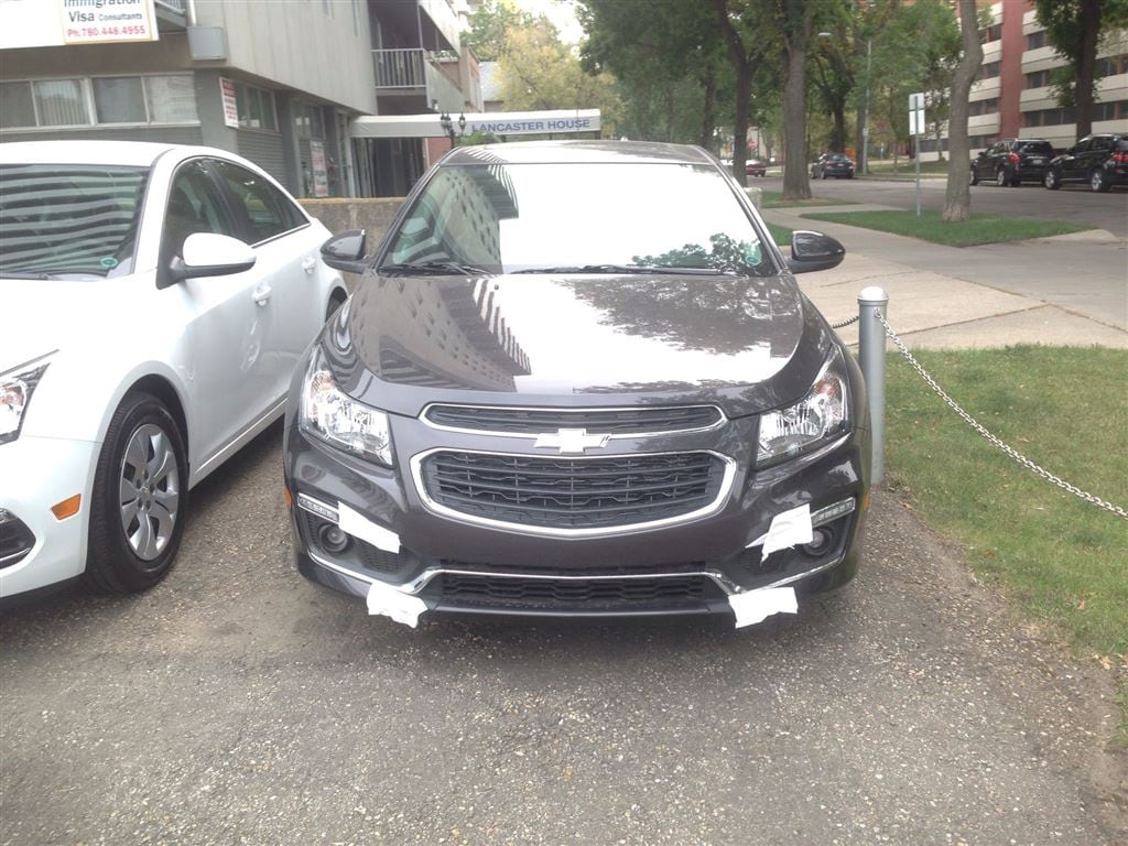 2016 chevrolet cruze limited lt 1lt for sale in edmonton. Black Bedroom Furniture Sets. Home Design Ideas