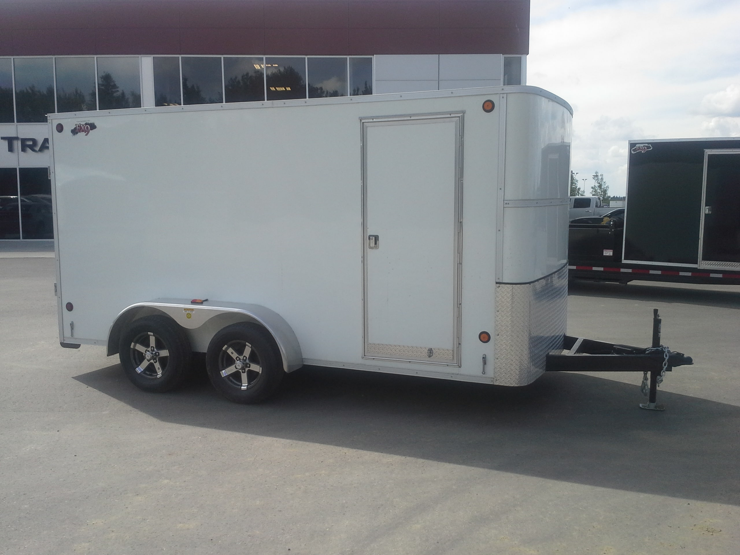 New 2016 CJay Trailers FX9-714-72-T35 Enclosed Tandem Edmonton