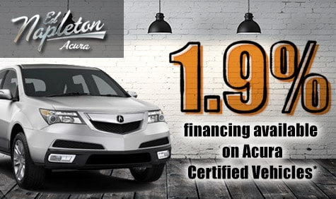Acura Financing on Ed Napleton Acura Of Elmhurst 1 9   Financing On Acura Certified