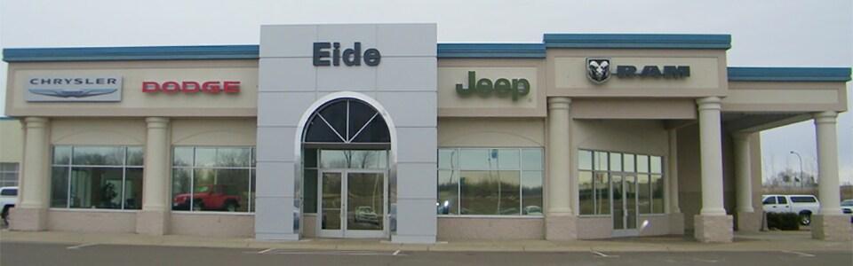 minneapolis area new chrysler dodge jeep ram used car dealer eide chrysler dodge jeep ram in. Black Bedroom Furniture Sets. Home Design Ideas
