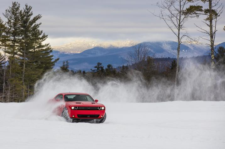2017 Dodge Challenger GT AWD Red Front Exterior