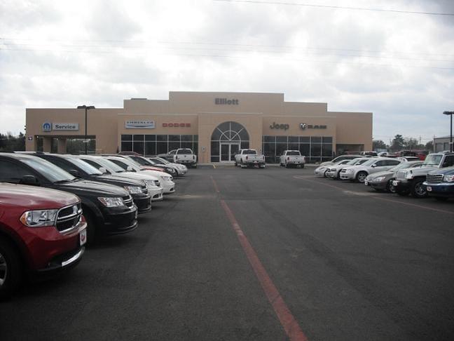 About Elliott Chrysler Jeep Dodge Mt Pleasant Texas New