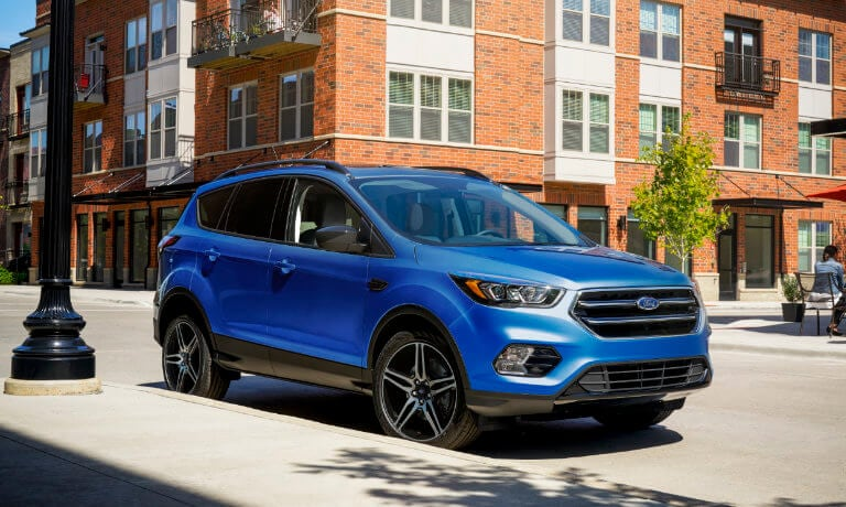 2019 Ford Escape parked on side street