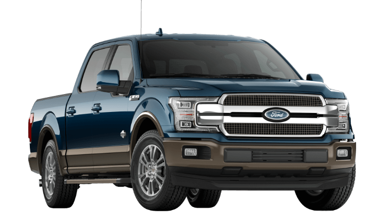 2019 Ford F-150 King Ranch Blue Jeans