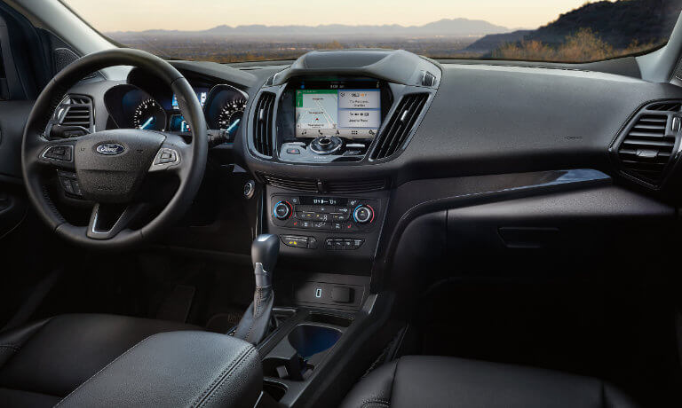 2019 Ford Escape frint infotainment view