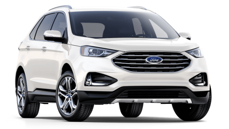 2019 Ford Edge Titanium in white, Ellsworth, WI