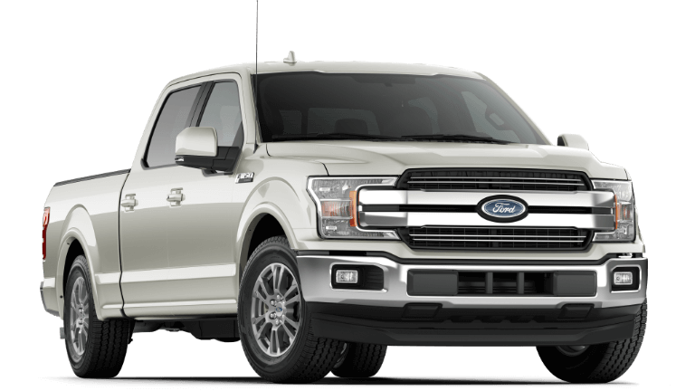 2019 Ford F-150 Lariat White Platinum