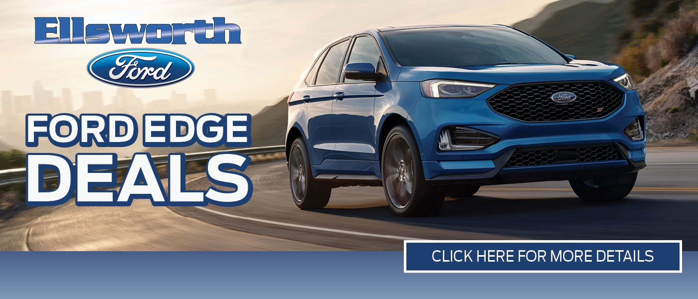 2019 Ford Edge Deals banner