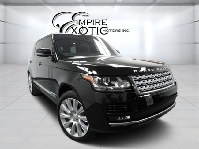 2016 Land Rover Range Rover 5.0L V8 Supercharged LWB SUV