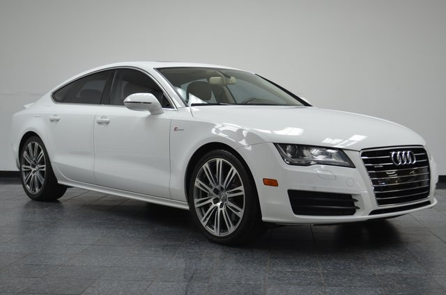 audi a7 white. 2012 audi a7 premium plus quattro sedan white