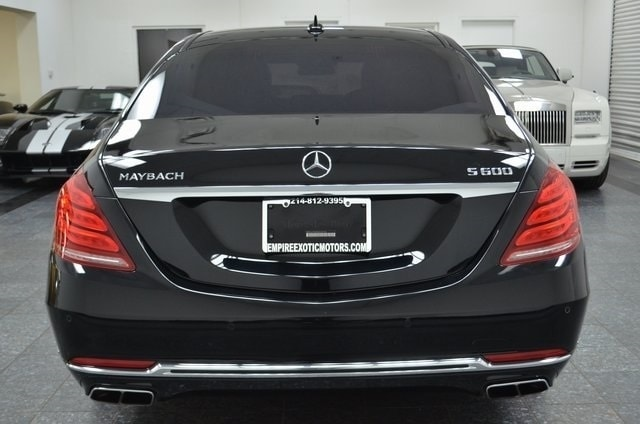 Black 2016 Mercedes Benz Maybach S 600 Biturbo For Sale