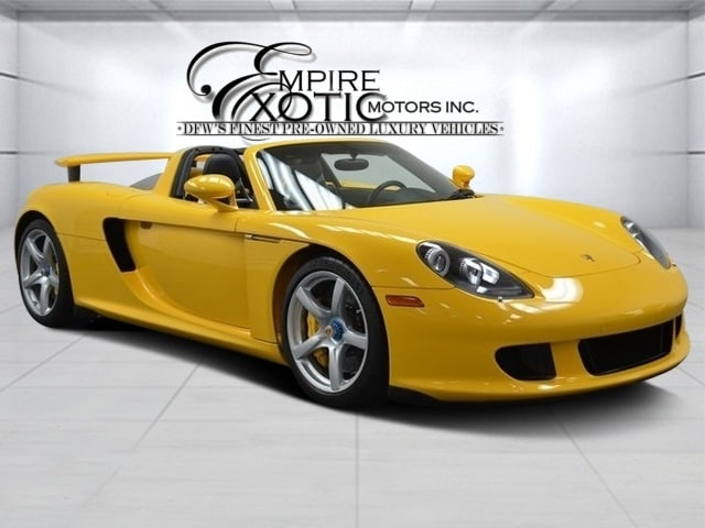 2004 Porsche Carrera GT *Fully Documented* Coupe