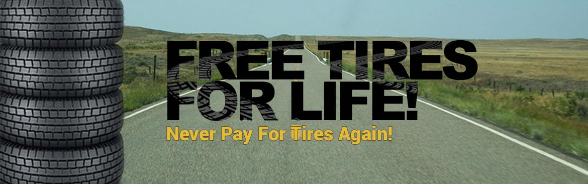 FREE Tires for Life