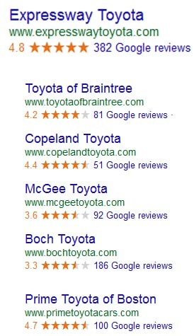 Expressway Toyota Reviews
