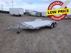 2018 Aluma 8218 Tandem Utility Trailer W/3500# TORSION AXLE