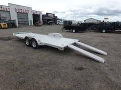 2018 Aluma 8220 Tandem Utility Trailer W/3500# TORSION AXLE