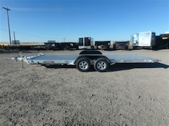 2017 Aluma 8220 Tilt Tandem Utility Trailer W/3500# TORSION AXLE