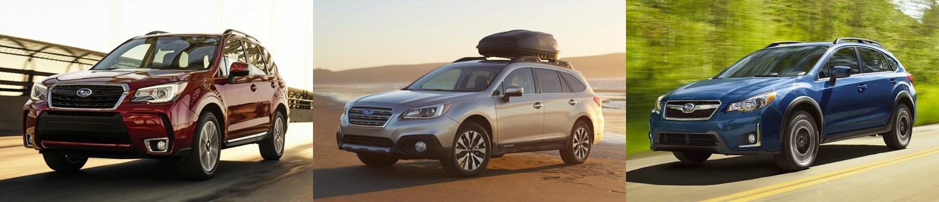 Compare The Subaru Suv Lineup Subaru Forester Subaru Outback