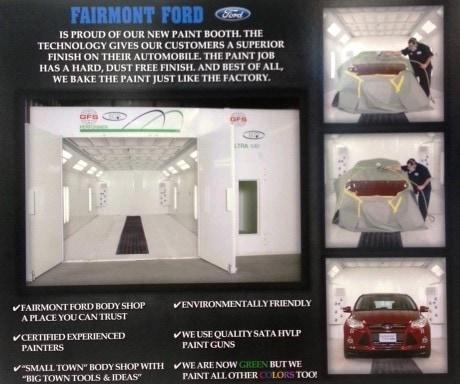 Body Shop Fairmont Ford