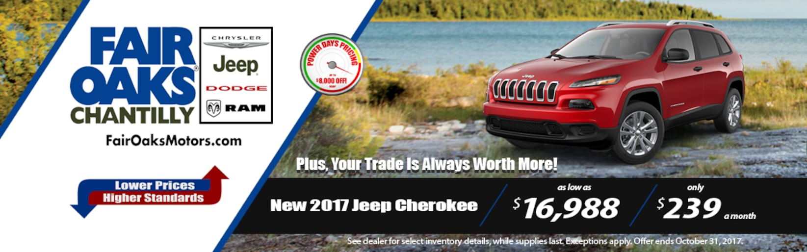 Fair oaks chantilly chrysler jeep dodge ram new used for Fair oaks motors jeep