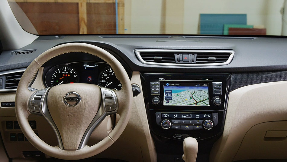 Interior Technology. 2015 Nissan Rogue Doylestown Pa
