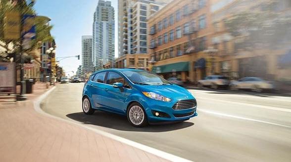 2015 Ford Fiesta Exterior Front End