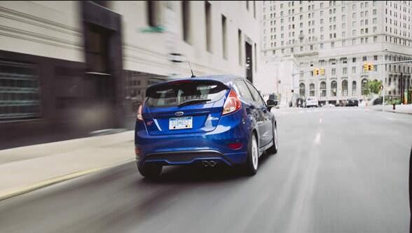 2015 Ford Fiesta Exterior Rear End