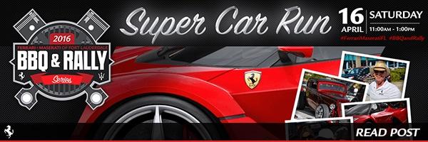 BBQ & Rally Bash at Ferrari of Fort Lauderdale