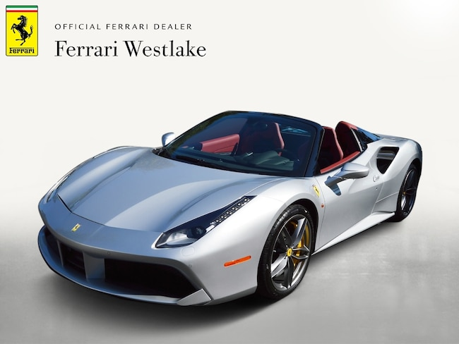 Certified Pre-Owned 2017 Ferrari 488 Spider Certified Convertible For Sale Redwood City, CA