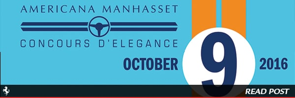 Join us at the 12th Annual Americana Manhasset Concours d'Elegance