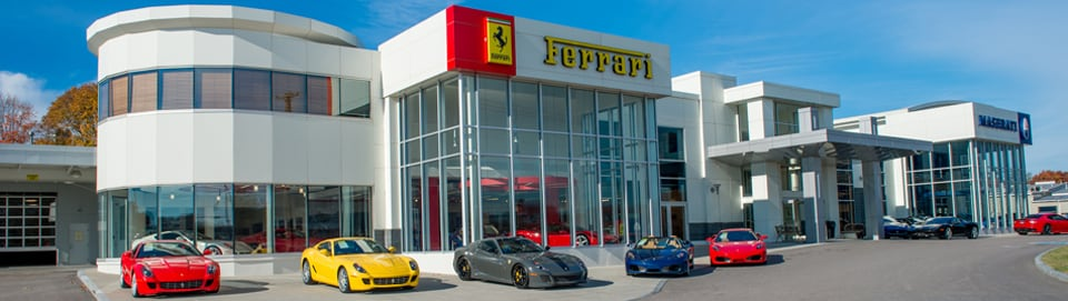 Ferrari Dealership Salno Dermon