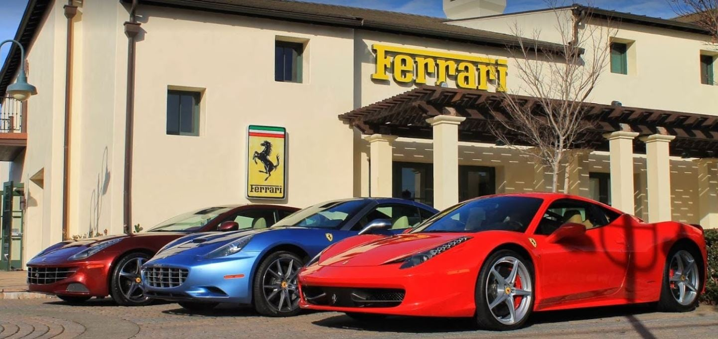 pre-owned 2017 ferrari 488 spider convertible for sale in san