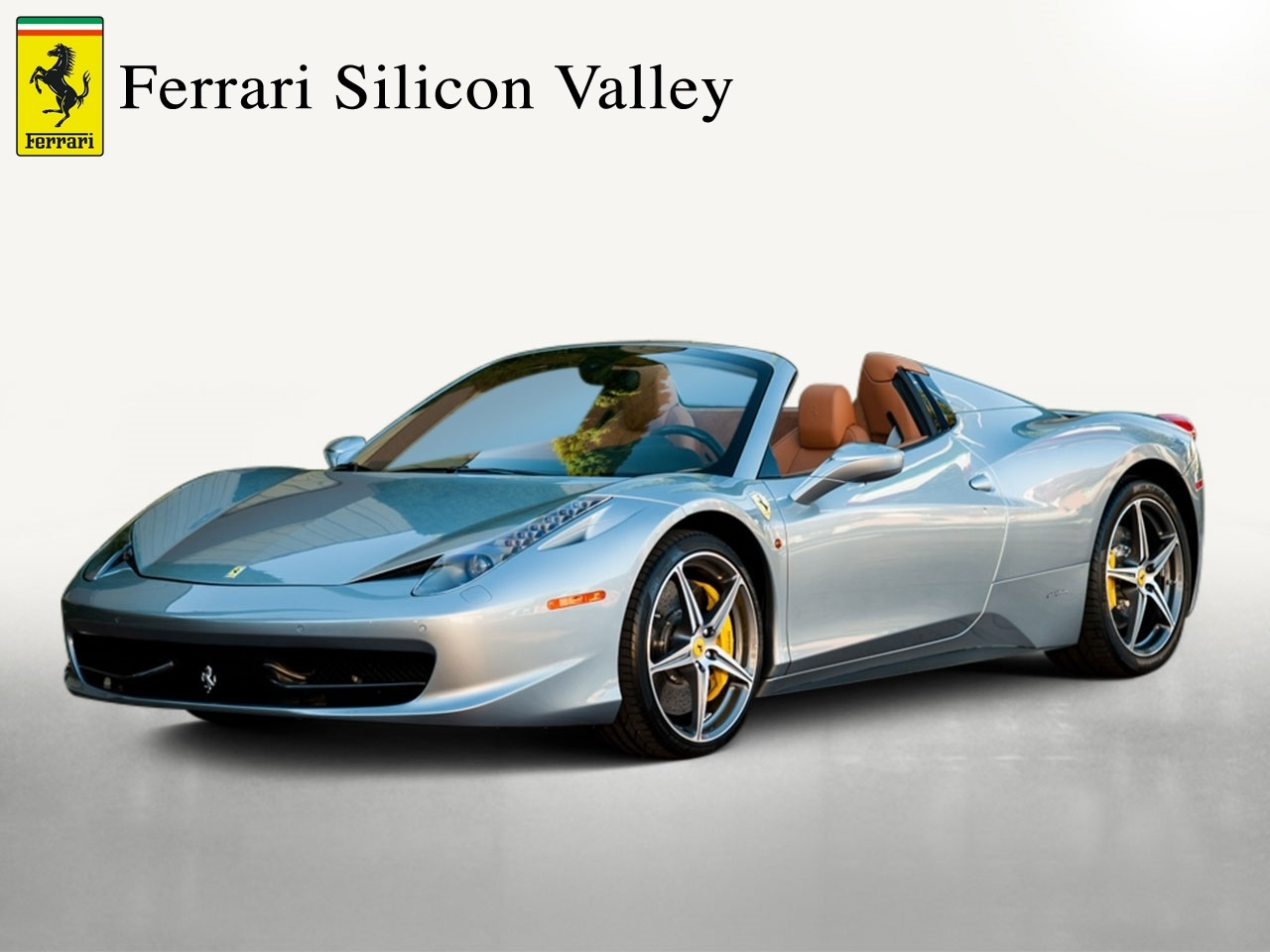 Certified Pre-Owned 2014 Ferrari 458 Spider Convertible For Sale Beverly Hills, California