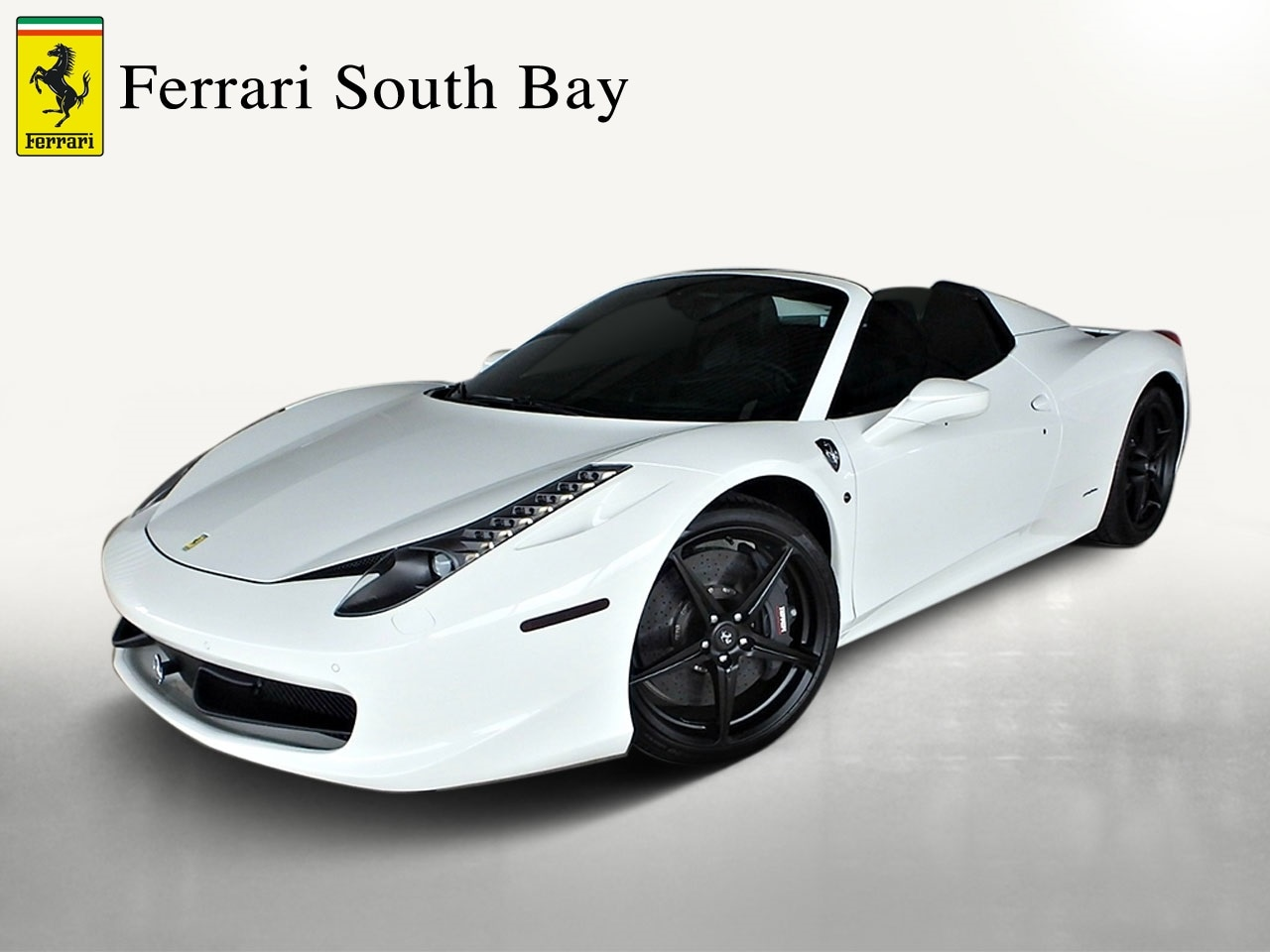 Certified Pre-Owned 2015 Ferrari 458 Spider Convertible For Sale Beverly Hills, California