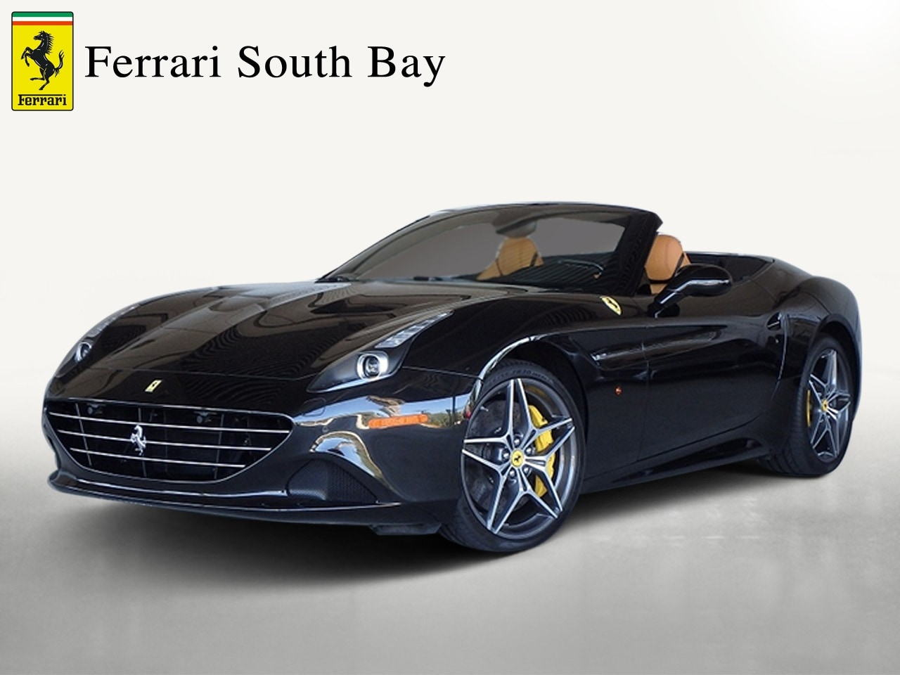 Certified Pre-Owned 2015 Ferrari California T Convertible For Sale Beverly Hills, California