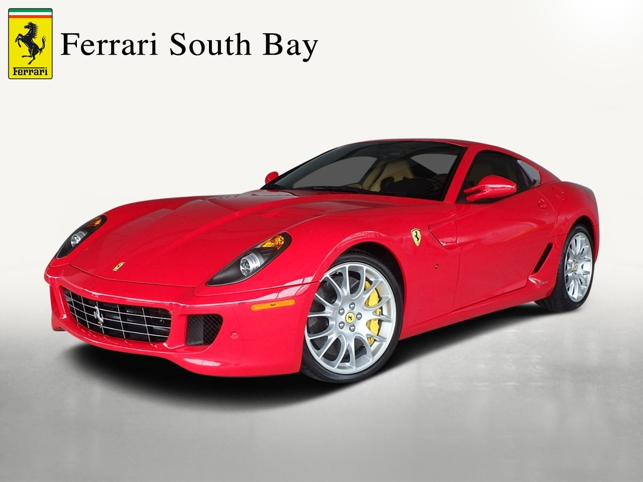Used 2007 Ferrari 599 GTB Fiorano F1A Coupe For Sale Beverly Hills, CA