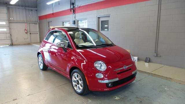 2017 FIAT 500c Lounge Convertible