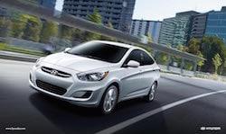 2017 Hyundai Accent in Santa Fe