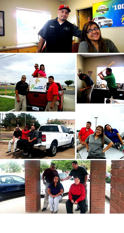 Fiesta Motors Dealership Team