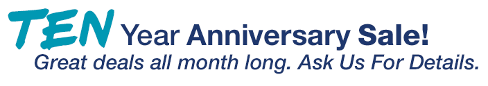 Findlay Hyundai Post Falls is celebrating our 10 year anniversary all February long!