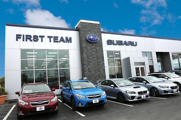 contact first team subaru