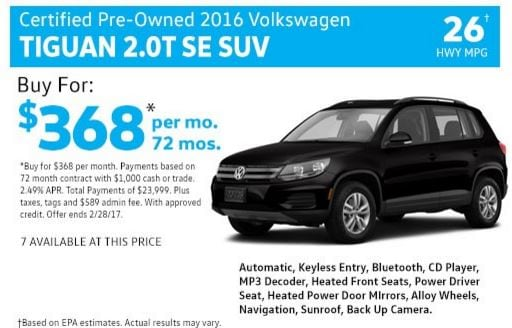 Flow Volkswagen Wilmington Vehicles For Sale In