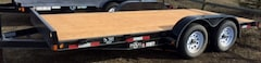 2017 Double A 16' Excel Car Hauler 2-3500# Axles ECH77-16