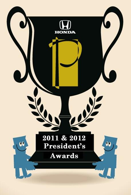 2011 president 39 s award winner folsom lake honda for Folsom lake honda service
